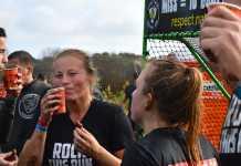 drinken voor en tijdens een obstacle run
