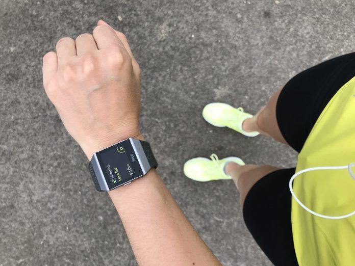 Fitbit Ionic obstacle run geschikt